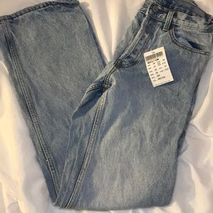 Straight leg brandy Melville mom jeans